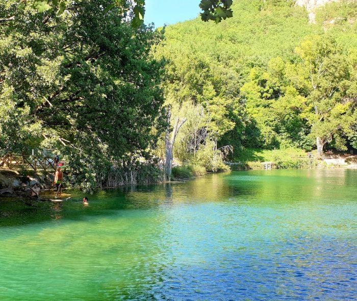 Un tuffo nel lago Sinizzo