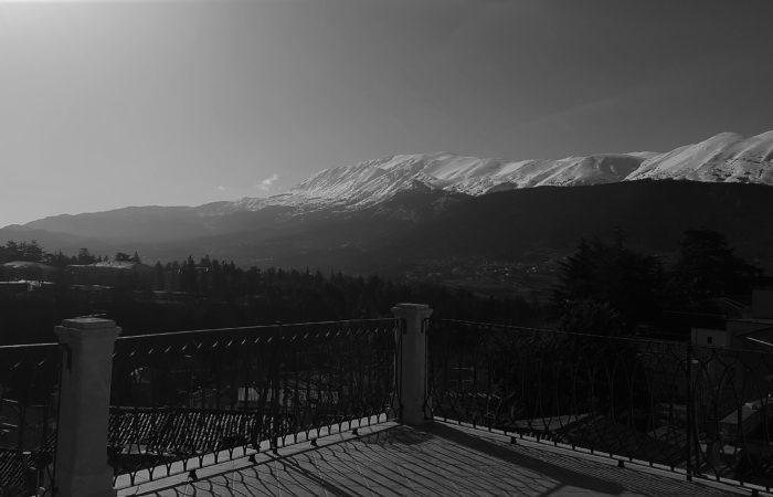 Terrazzo Vista Invernale Monte Ocre